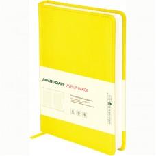 "Ежедневник недатированный, A5, 160л., кожзам, Greenwich Line ""Vivella Image"", желтый"