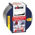 Клейкая лента хозяйственная 48 мм х 10 м, UNIBOB, для 1000 применений, основая-х/б ткань, подвес, 44264