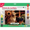 "Картина по номерам Greenwich Line ""Преданный пёс"" A3, с акриловыми красками, картон, европодвес"