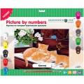"""Картина по номерам Greenwich Line """"Котята"""" A3, с акриловыми красками, картон, европодвес"""