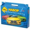 """Набор для первоклассника в подарочной упаковке """"Машины"""", HATBER, Нп4 17892, N271742"""