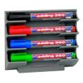 Держатель магнитный для 4 маркеров для доски EDDING, 150х130 мм, E-BMA/3