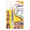 Грим для лица EDDING FUNTASTICS, 7 цветов (желтый, оранжевый, красный, синий, зеленый, черный, белый), блистер, E-47FUN/1-B