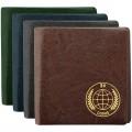 Альбом для монет OfficeSpace 105*105 на 24 монеты, 6 листов, карманный, ПВХ