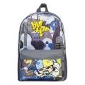 Рюкзак ПИФАГОР для начальной школы, мальчик, Хип-хоп, 38*29*13 см, 226890