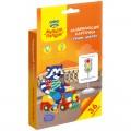 "Развивающие карточки Мульти-Пульти ""Учим цвета"", 36шт., картон, европодвес"