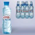 Вода негазированная питьевая СВЯТОЙ ИСТОЧНИК, 0,33 л, пластиковая бутылка