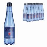 Вода газированная питьевая COURTOIS (КУРТУА), 0,5 л, пластиковая бутылка, ш/к 09442