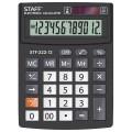 Калькулятор STAFF PLUS настольный STF-222, 12 разрядов, двойное питание, 138x103мм