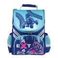 Ранец жесткокаркасный ПИФАГОР для начальной школы, мальчик, Квадрогонщик, 36х28х15см, 226904