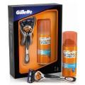 Промонабор: Бритва GILLETTE ProGlide Flexball с 1 смен.кассет. + Гель д/бритья 75мл Fusion Hydra Gel