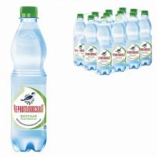 Вода газированная минеральная ЧЕРНОГОЛОВСКАЯ, 0,5 л, пластиковая бутылка, ш/к 03815