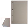 Крышки переплетные картонные для прошивки документов А4 305*220 мм, КОМПЛЕКТ 100шт