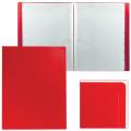 Папка 100 вклад. STAFF эконом, красная, 0,7мм