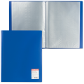 "Папка 30 вклад. ERICH KRAUSE ""Standard"" А4, вертикальная, синяя, 0,6 мм"
