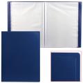Папка 80 вклад. STAFF эконом, синяя, 0,7мм