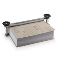 Струбцина-лоток для архивного переплета документов формата А4, металл, до 100 мм (950л.)
