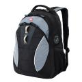 Рюкзак WENGER (Швейцария), универсальный, черный, серые вставки, 32*15*46см, 22л, 16062415