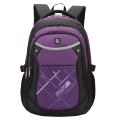 Рюкзак BRAUBERG для средней школы, для девочек., черн/фиолетовый., Мамба, 46*34*18см