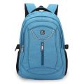 Рюкзак BRAUBERG для средней школы, универсальный, джинсовый, Скай, 46*34*18см