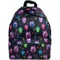 Рюкзак BRAUBERG B-HB1611 для старшекласс./студентов, универсальный, черный, Совы, плотн.дно, 41*32*14 cм