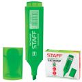 Текстмаркер STAFF скошенный наконечник 1-5 мм, зеленый, 150727