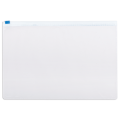 Папка-конверт на молнии STAFF, А4, 230*333 мм, 120 мкм, прозрачная, 224979