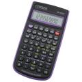 Калькулятор CITIZEN инженерный SR-260NPU, 10+2 разрядов, питание от батарейки, 154*80мм, ФИОЛЕТОВЫЙ