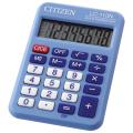 Калькулятор CITIZEN карманный LC-110NBLCFS, 8 разрядов, двойное питание, 87х58мм, СИНИЙ