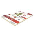 Бумага CREATIVE color (Креатив) А4, 80г/м, 100 л. (5 цв.х20л.) цветная пастель, БПpr-100r, ш/к 40679