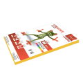 Бумага CREATIVE color (Креатив) А4, 80г/м, 100 л. интенсив желтая, БИpr-100ж, ш/к 45216