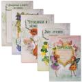 Портфолио ШКОЛЬНИКА для девочек (внутренний блок), 25 разделов, 30 листов, ПОРТ-2
