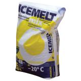 Реагент антигололедный 25кг ICEMELT Mix, до -20С, хлористый натрий, мешок, ш/к 10074