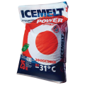 Реагент антигололедный ICEMELT Power (Айсмелт Пауэр) 25кг, до -31С, мешок