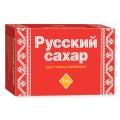 """Сахар-рафинад """"Русский"""" 1 кг (196 кусочков, размер 15*16*21мм), картонная упаковка"""
