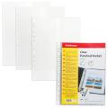 Папки-файлы перфорированные A4 ERICH KRAUSE, КОМПЛЕКТ 10шт., гладкие, 0,03мм, 6791
