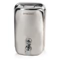 Диспенсер для жидкого мыла ЛАЙМА, 1 л, нержавеющая сталь, зеркальный, 601796