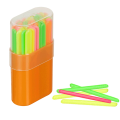 Счетные палочки СТАММ (50 шт.) многоцветные, в пластиковом пенале, СП04