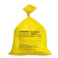 Мешки для мусора медицинские ЛАЙМА-МЕД, комплект 50 шт., класс Б (жёлтые), 30 л, ПРОЧНЫЕ, 50-60 см, 18 мкм