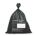 Мешки для мусора медицинские ЛАЙМА-МЕД, комплект 50 шт., класс Г (чёрные), 100 л, ПРОЧНЫЕ, 60-100 см, 22 мкм