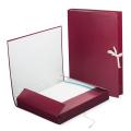 Папка для бумаг архивная, 30 мм, бумвинил, 2 х/б завязки, до 250 листов