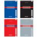 Блокнот BRAUBERG (БРАУБЕРГ), А6, 108-145 мм, 48 л. «CONTRACT» («Контракт»), гребень, обложка мелованный картон, клетка (4 вида)