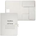 Папка для бумаг с завязками картонная, гарантированная плотность 280 г/м, до 200 л.