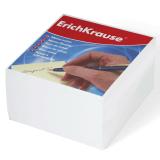 Блок для записей ERICH KRAUSE непроклеенный, куб 9*9*5 см, белый, белизна 95-98%, 2717