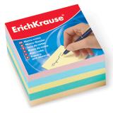 Блок для записей ERICH KRAUSE непроклеенный, куб 9*9*5 см, цветной, 5139