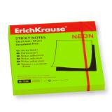 Блок самоклеящийся ERICH KRAUSE НЕОН, 75-75 мм, 80 л., зеленый
