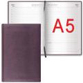 Ежедневник BRAUBERG (БРАУБЕРГ) недатированный, А5, 148-218 мм, «Favorite» («Фаворит»), «фактурная кожа», 160 л., коричневый