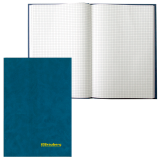 Книга учета BRAUBERG (БРАУБЕРГ), 96 л., А4, 200-290 мм, клетка, бумвинил, блок офсет