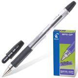 Ручка шариковая масляная PILOT BPS-GP, корпус прозрачный, 0,7мм, линия 0,32мм, черная, BPS-GP-F