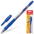 Ручка шариковая ERICH KRAUSE «Grapho», масляная, корпус тонированный синий, 0,5 мм, синяя